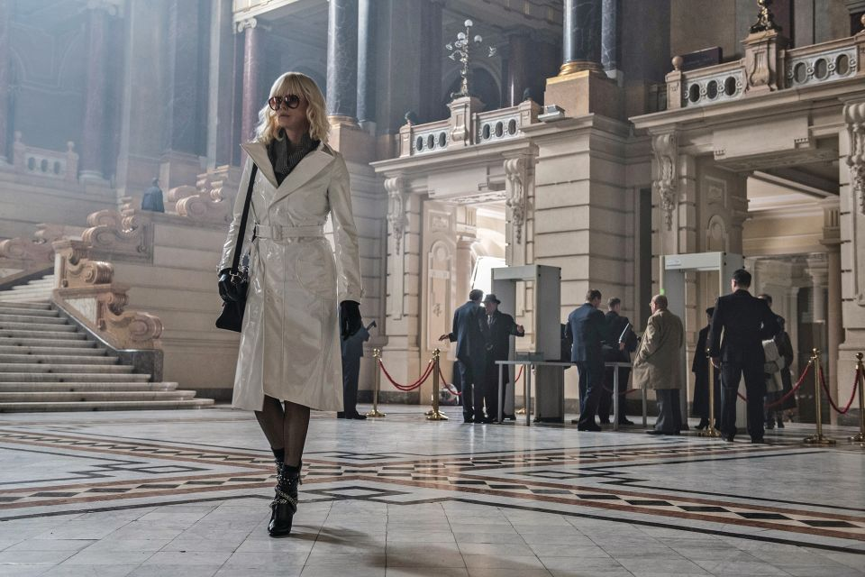 Charlize Theron and Her Icy Hot Glamour in Atomic Blonde