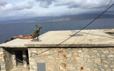Kiki Smith at the Deste Foundation, Hydra